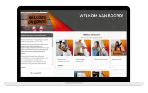 De digitale leeromgeving van VodafoneZiggo in StreamLXP